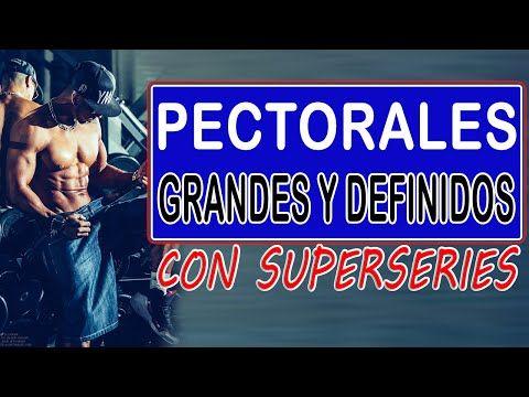 RUTINA PARA PECTORALES DE ACERO CON SUPERSERIES| Ejercicios de pecho en pareja - YouTube
