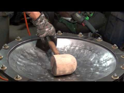 An early video of Manny from Zen Handpan sinking a shell by hand. Me making a shell nov 2012 - YouTube
