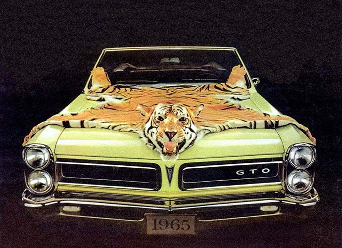 1965 Pontiac GTO - the first generation of a legend - http://carswithmuscles.com/1965-pontiac-gto/