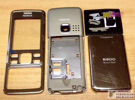 Komplett készülék ház Nokia 6300