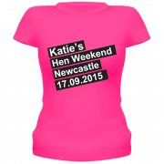 Hen Weekend Personalised T-Shirt/Vest Top