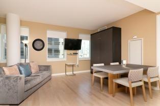 Central Midtown 1BR  1 bedroom, 1 bathroom  Amenities: Internet, Air Conditioning, WiFi, Concierge, Doorman