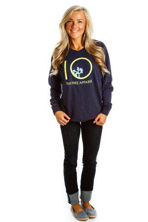 Wetlands (Navy) | Ten Tree Apparel – Ten Trees Are Planted For Every Item Purchased