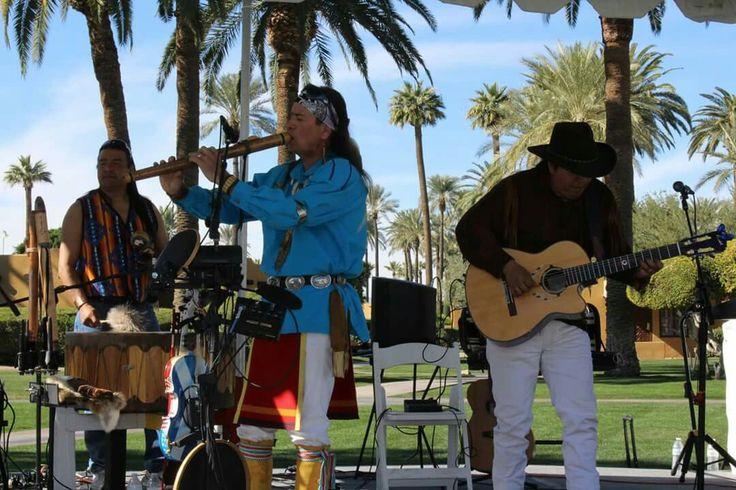Arvil Bird playing with Inka Gold at the Wigwam Resort in Arizona 2016