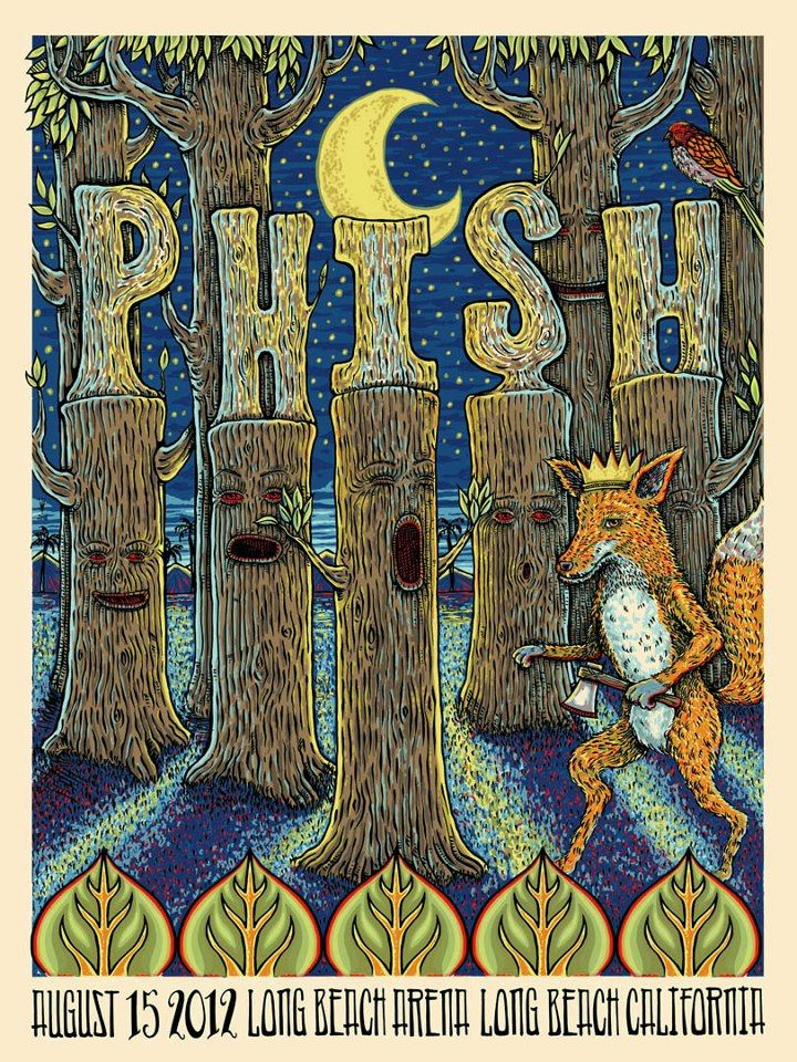 I really like this one... Long Beach 8.15.2012 #phish