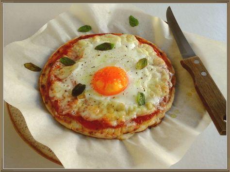 Θες γρήγορη πίτσα με αυγό?