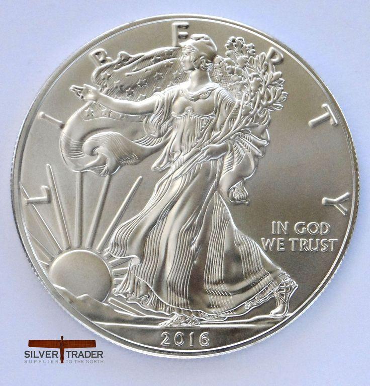 The 2016 American eagle 1 ounce silver bullion coin is The official U.S. 1 ounce silver bullion coin and among the best bullion coins on the market today.