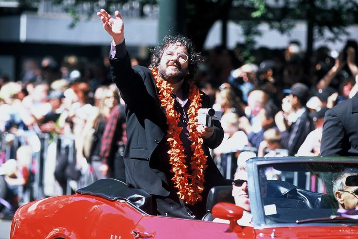 Sir Peter Jackson, Lord of the Rings Film Maker, Opening Parade, Wellington - copyright www.belindabrownphotography.co.nz