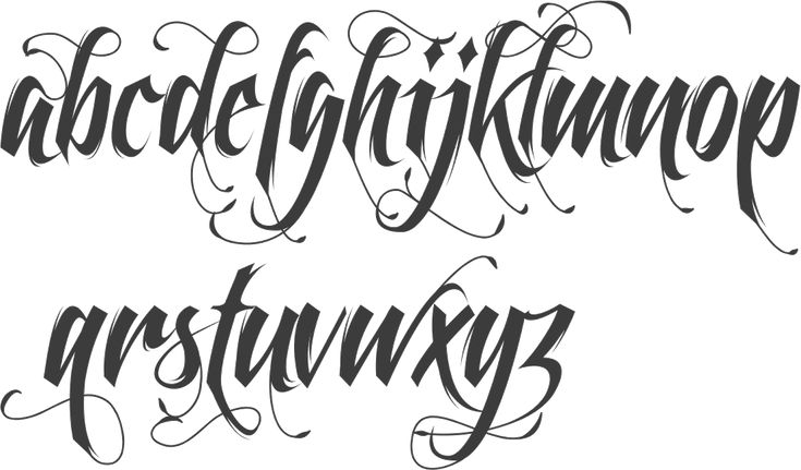 gangster script tattoo fonts - Google Search