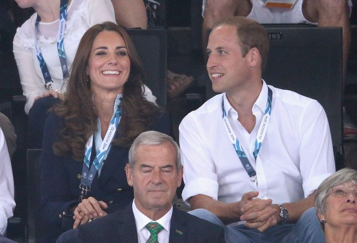 July 28, 2014 - Commonwealth Games Day 5 - Men's Artistic Gymnastics, with Prince William (Glasgow, Lanarkshire, Scotland)