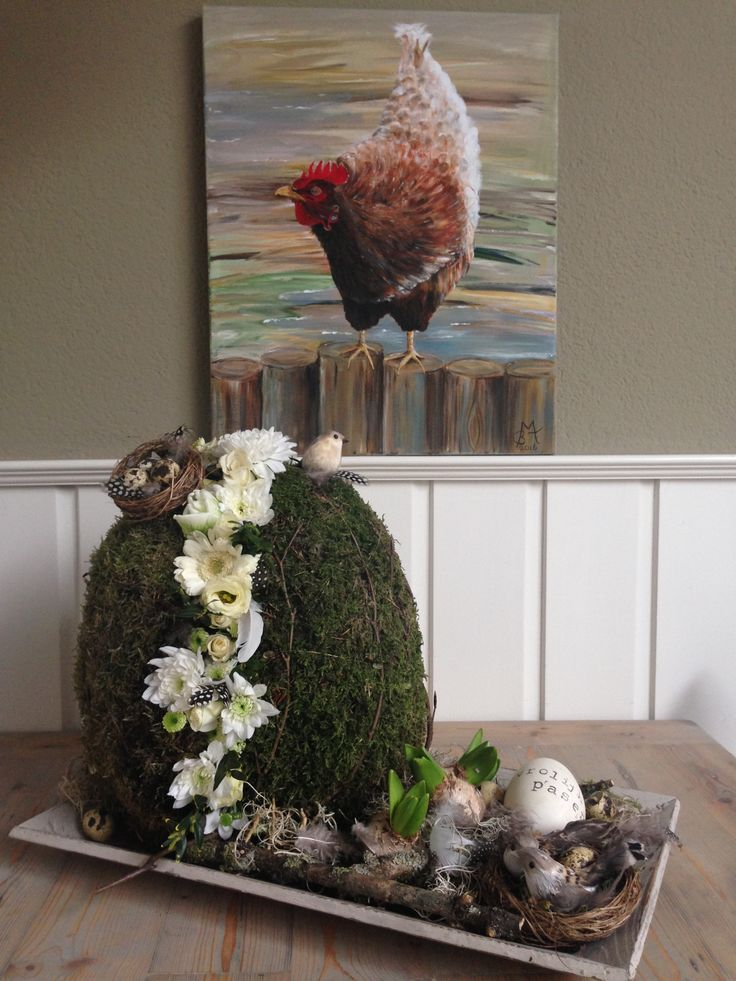 DIY zowel bloemstuk als schilderij!