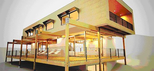 storage container homes | Mobile homes, step aside-shipping containers and other modern ...