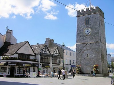 st leonard's tower, newton abbot, devon