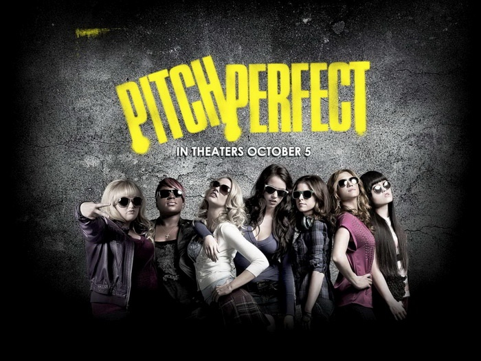"""Pitch Perfect. Interesting music movie. has some great moments (mostly """"Fat Amy's). Personal rating  - 7/10. Read more on - http://movies-notes.blogspot.com/2012/12/pitch-perfect.html"""