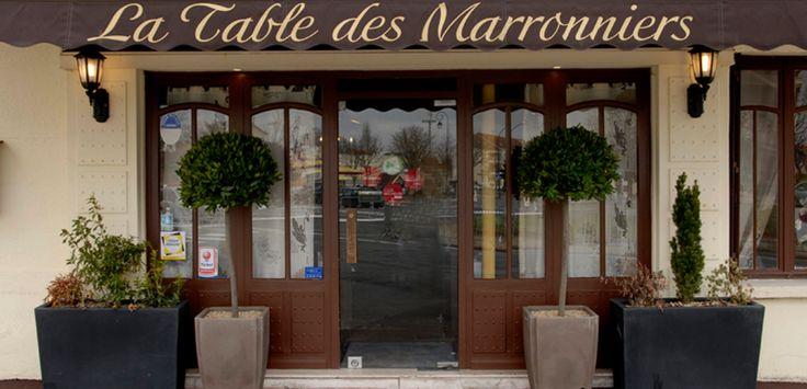 Restaurant La Table des Marronniers Saint-Maur-des-Fossés