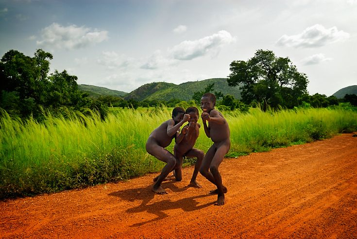 Near Tanougou waterfall, Atakora, Benin