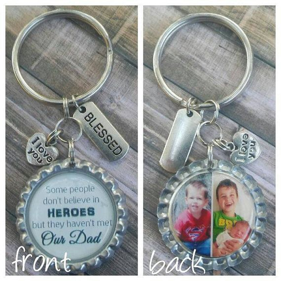 Check out this item in my Etsy shop https://www.etsy.com/listing/293863957/dad-keychain-photo-keyring-dad-gift