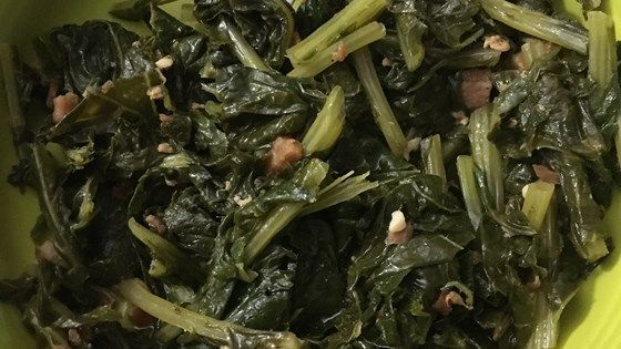 This recipe for Southern turnip or collard greens omits the bacon grease while keeping all the flavor.