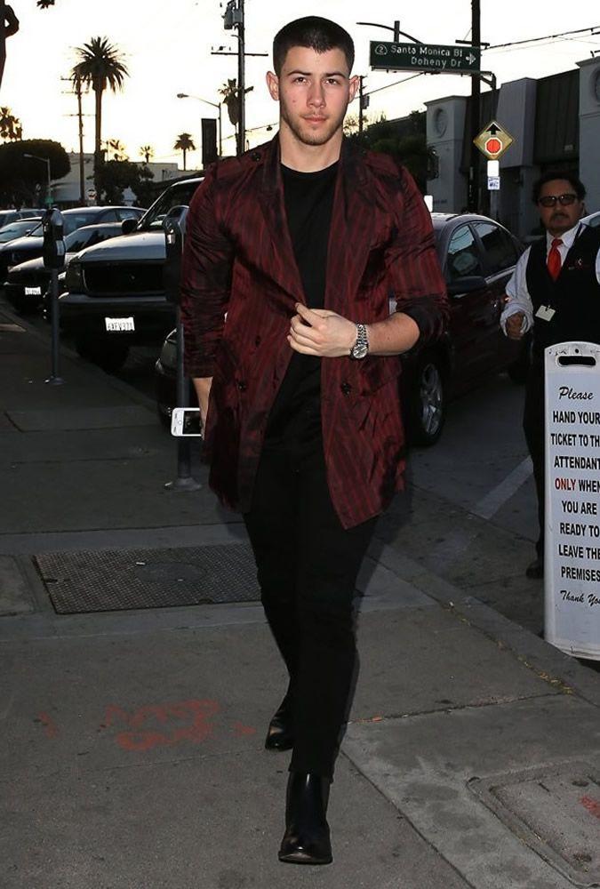 The Best Dressed Men Of The Week: Nick Jonas in Los Angeles. #bestdressedmen #nickjonas