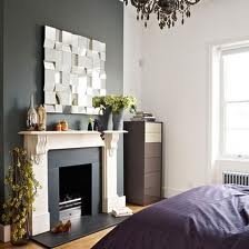 Dark grey feature wall little house pinterest grey for Grey feature wallpaper bedroom