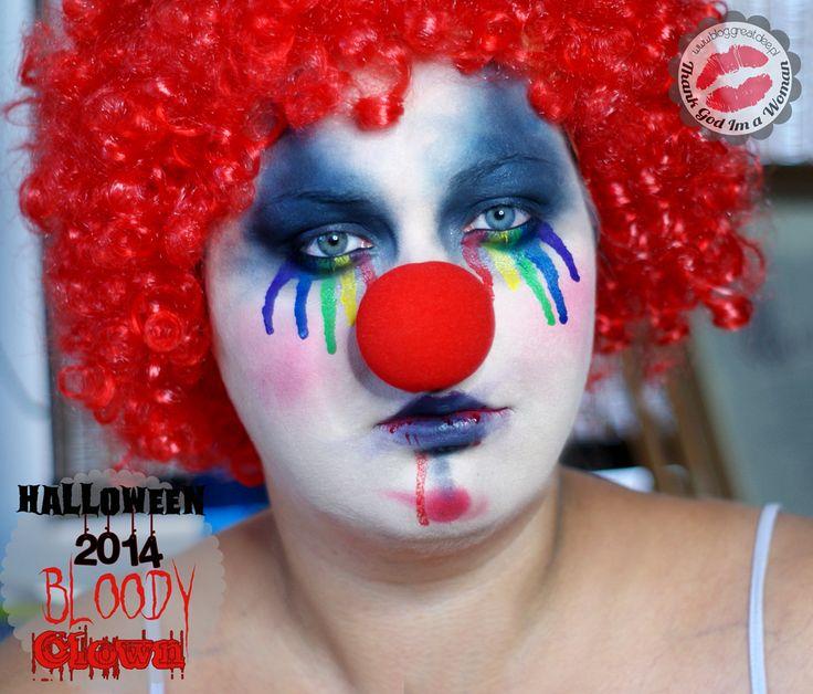 Halloween 2014: Bloody Clown