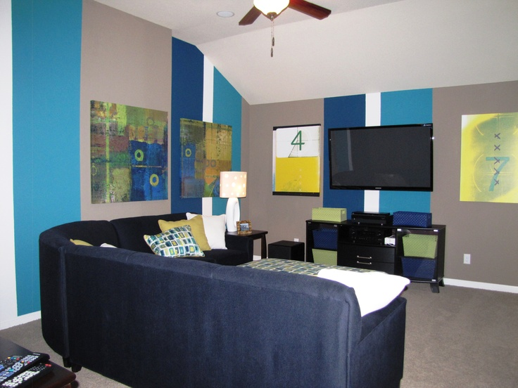 Awesome Media Room Idea by Stylecraft Builders
