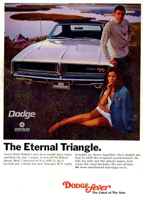 1969 Dodge Charger R/T ad...the ads were so much better then ...really