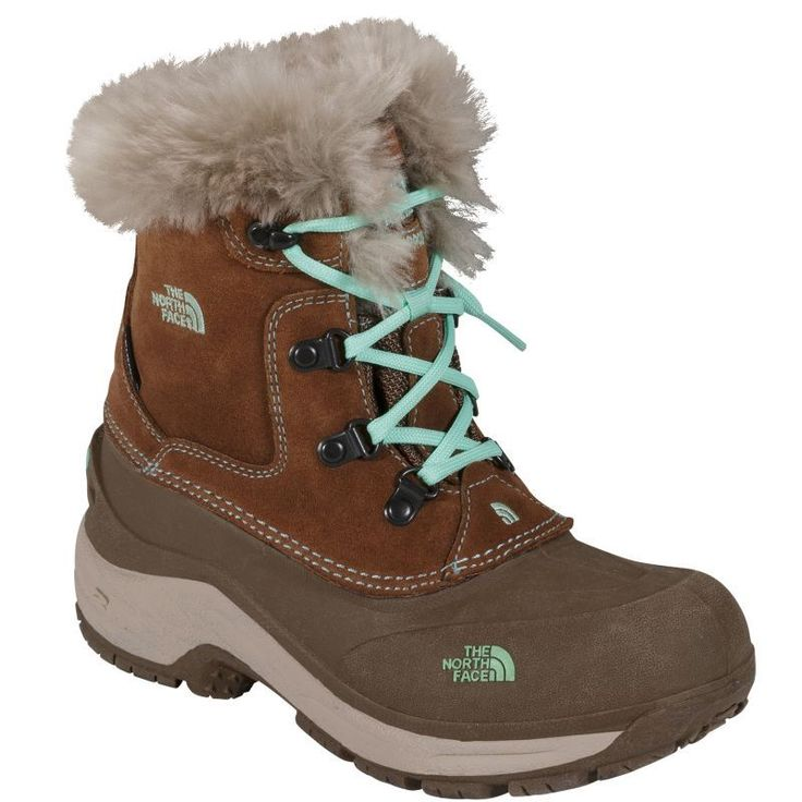 The North Face Kids' McMurdo 400g Waterproof Winter Boots - Past Season, Girl's, Brown