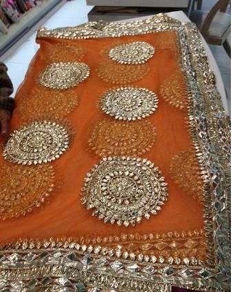 Orange and Pinkk: Mehndi and Sangeet Lehenga Inspirations