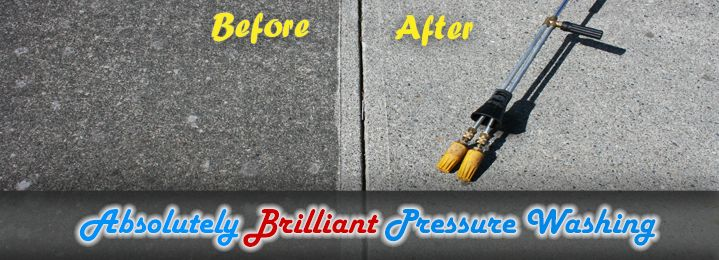 Save 67% on 1-Hour of Hot Pressure Washing with Absolutely Brilliant in Nanaimo! Spring is coming - give your property a much-needed makeover after all this harsh weather!
