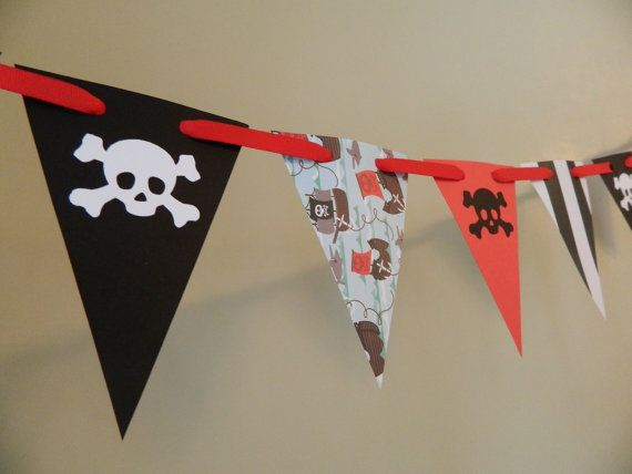 Pirate Birthday Party Decorations / Pirate by anyoccasionbanners