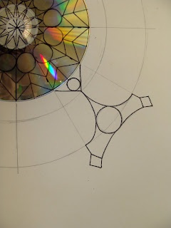 CD mandalas - images done by 4th graders