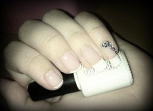 Shellac - french nails