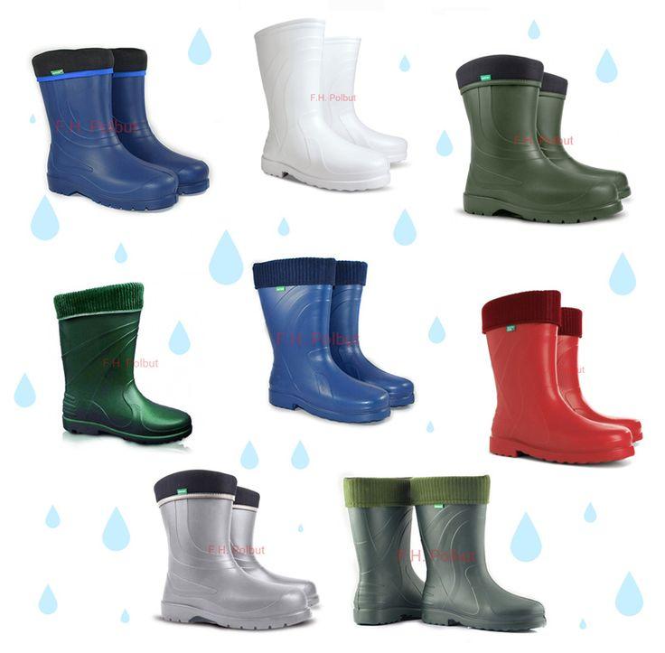 #Waterproof wellington #boots for #Women's with modern #pattern - super light #EVA material !
