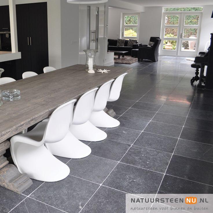Belgisch Hardsteen Soft Finish Dark Tone - NatuursteenNU
