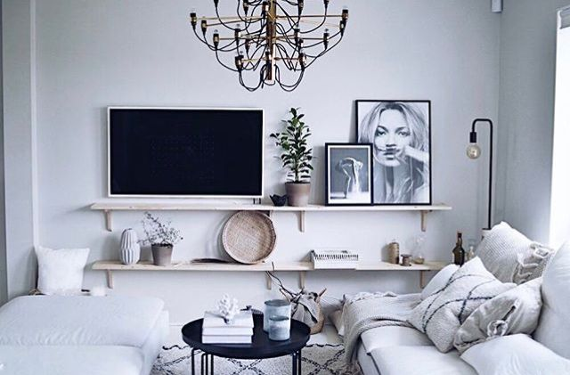 Living room white D R E A M