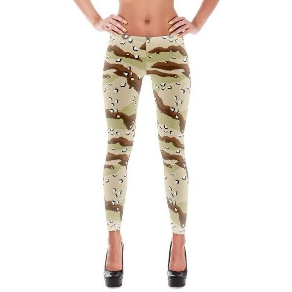American Chocolate Chip Desert CAMO All-Over Leggings