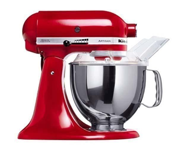 Kitchenaid Robot Sur Socle Artisan 5ksm150pseer Rouge