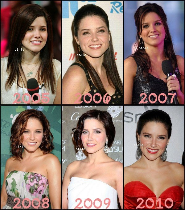 ♥Evolution Sophia Bush ♥Création : One-Tree-Hill-Les-Scott