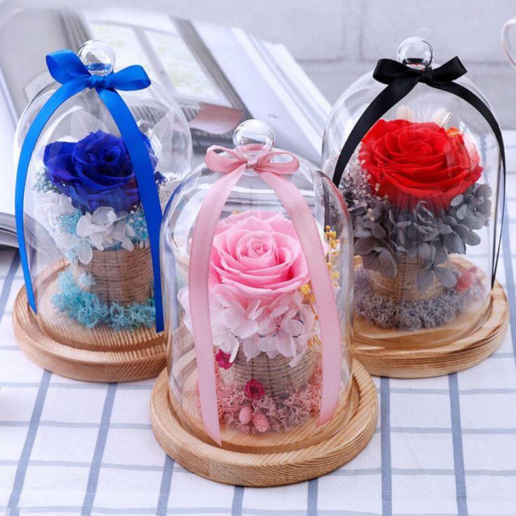 Mens Wedding Party Gifts: Eternal Rose Flower