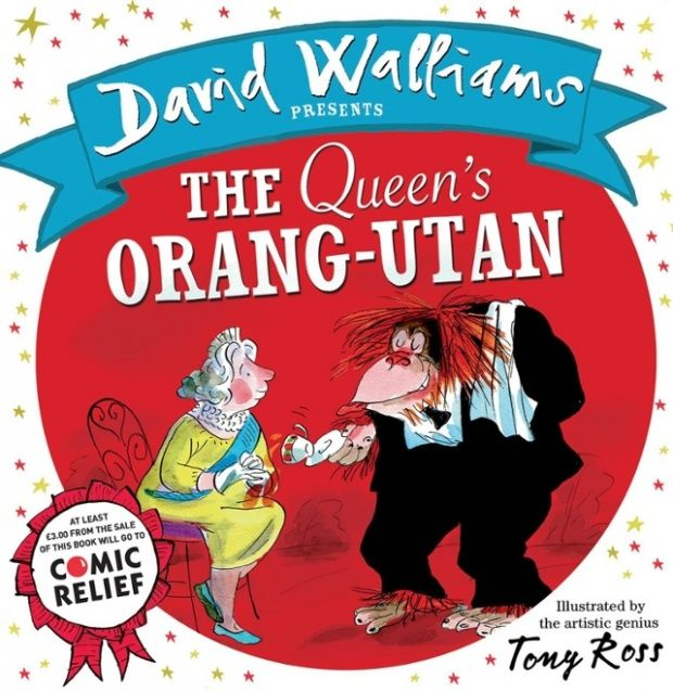 David Walliams writes The Queen's Orangutan for Red Nose Day 2015