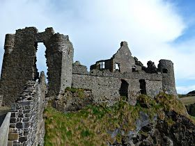 Dunluce Castle, Ireland, inspired chronicles of narnia's Cair Paravel