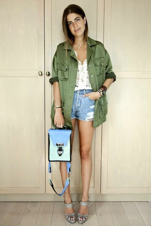 11 Le Fashion Blog 15 Ways To Wear A Green Army Jacket Lace Shirt Cut Off Jean Shorts Via Leandra Medine Man Repeller photo 11-Le-Fashion-Blog-15-Ways-To-Wear-A-Green-Army-Jacket-Lace-Shirt-Cut-Off-Jean-Shorts-Via-Leandra-Medine-Man-Repeller.jpg