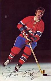 Marc Tardif : Après deux campagnes avec le Canadien junior de Montréal de la Ligue de hockey junior majeur du Québec, les Canadiens de Montréal, invoquant pour la dernière fois leur privilège de choisir des joueurs québécois au premier et deuxième tour du repêchage amateur, font de Tardif leur deuxième choix au repêchage amateur de la LNH 1969, son ami Réjean Houle ayant été le premier choix.