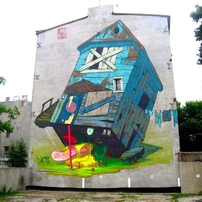 Lodz, Poland / Street Art Utopia