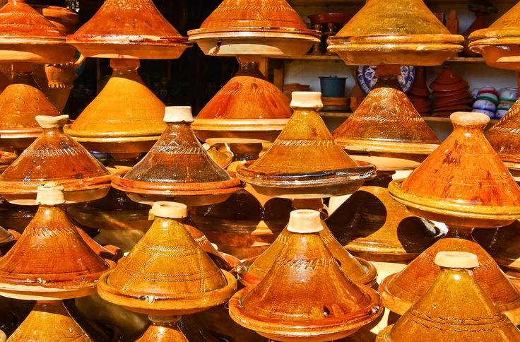 Maroc - Plats à tajines