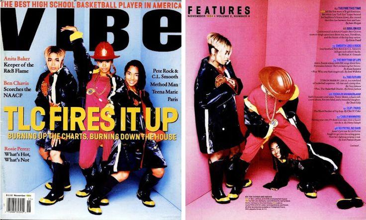 Tlc Vibe Magazine 1994