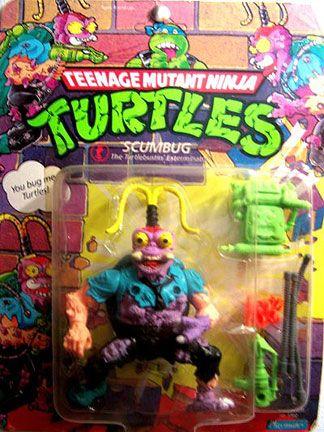Playmates 1990 – Scumbug « MutantOoze.org: Teenage Mutant Ninja Turtles