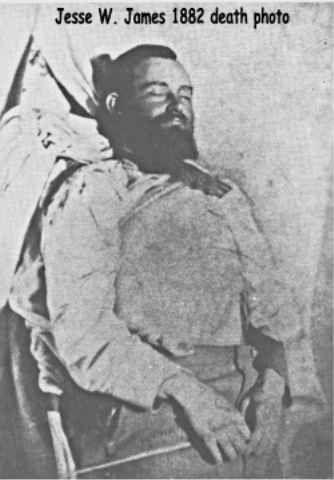 Jesse James Outlaw Gang | Assassination of Jesse Woodson James