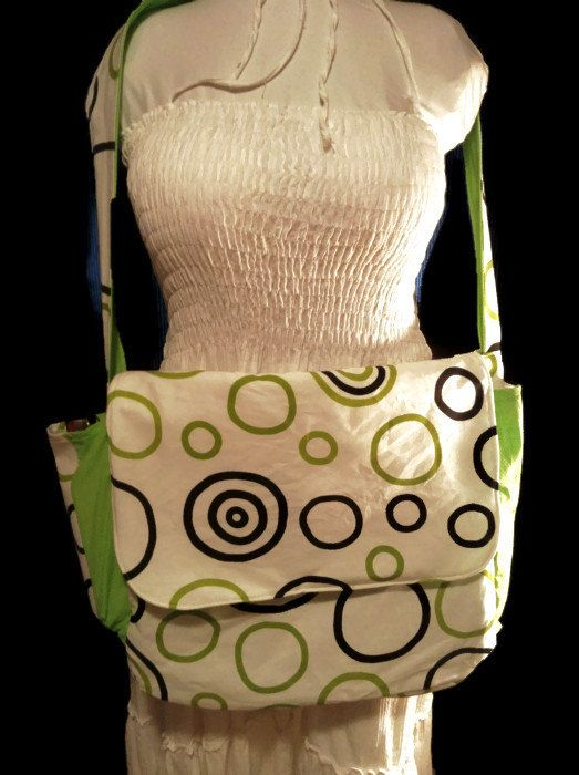 Large Messenger bag - pinned by pin4etsy.com